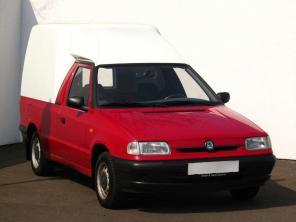 Škoda Pickup 1996 Pickup červená 1