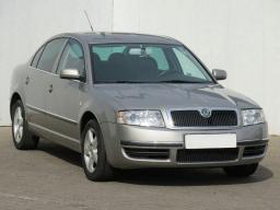 Škoda Superb 2005 Sedan šedá 4