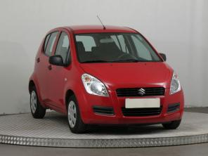 Suzuki Splash 2010 Hatchback červená 8
