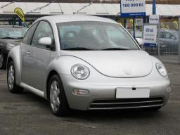 Volkswagen New Beetle 2000 Hatchback srebrny 4