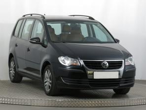 Volkswagen Touran 2008 Rodinné autá čierna 2
