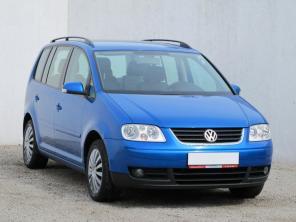 Volkswagen Touran 2006 Rodinné autá modrá 7