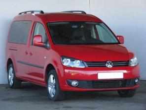 Volkswagen Caddy 2013 Pickup červená 8