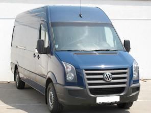Volkswagen Crafter 2011 Van modrá 3
