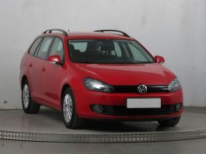 Volkswagen Golf 2012 Combi červená 1