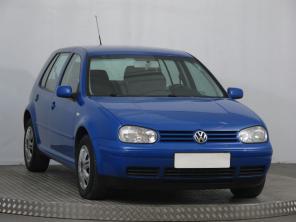 Volkswagen Golf 2002 Hatchback modrá 3