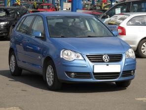 Volkswagen Polo 2008 Hatchback modrá 4
