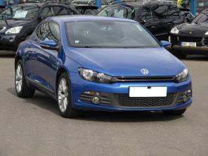 Volkswagen Scirocco 2010 Coupe modrá 6