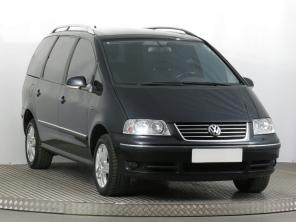 Volkswagen Sharan 2006 Rodinné autá čierna 2