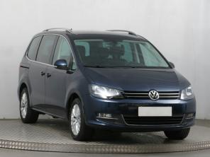 Volkswagen Sharan 2013 Rodinné autá modrá 4
