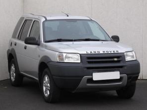 Land Rover Freelander 2003 SUV stříbrná 8