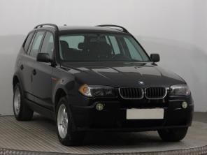 BMW X3 2005 SUV czarny 4
