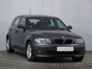 BMW 1 2007 Hatchback modrá 2