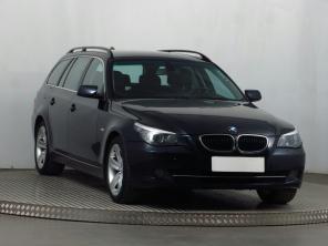 BMW 5 2008 Combi niebieski 2