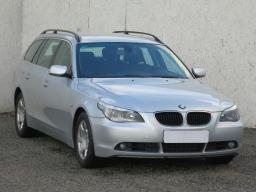 BMW 5 2009 Combi srebrny 10