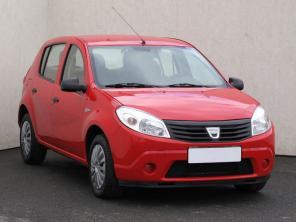 Dacia Sandero 2008 Hatchback červená 2