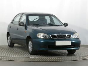 Daewoo Lanos 1997 Hatchback bordó 6