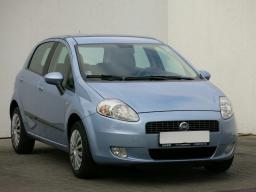 Fiat Grande Punto 2008 Hatchback blue 7