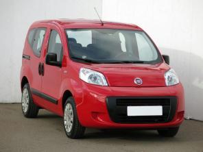 Fiat Qubo 2011 Rodinné autá červená 2