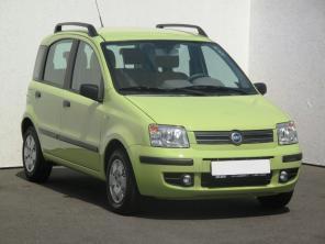 Fiat Panda 2006 Hatchback zelená 8