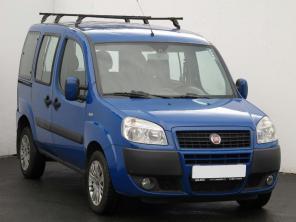 Fiat Doblo 2008 Pickup modrá 9