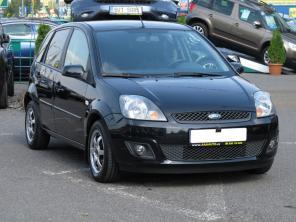 Ford Fiesta 2007 Hatchback černá 7