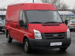 Ford Transit 2009 Van red 3