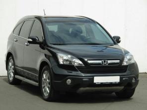 Honda CRV 2008 SUV czarny 3