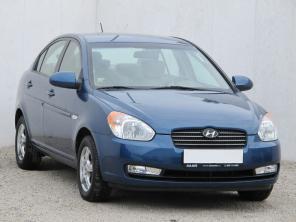 Hyundai Accent 2007 Sedan modrá 7