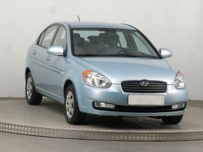 Hyundai Accent 2009 Sedan čierna 9