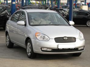 Hyundai Accent 2009 Sedan strieborná 8