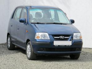 Hyundai Atos 2007 Hatchback modrá 4