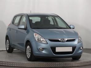 Hyundai i20 2011 Hatchback modrá 9