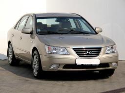 Hyundai Sonata 2007 Sedans beige 3