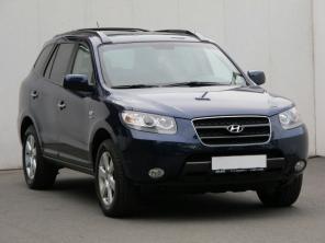 Hyundai Santa Fe 2008 SUV modrá 1