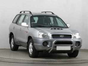Hyundai Santa Fe 2004 SUV stříbrná 10
