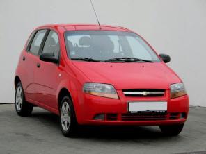 Chevrolet Aveo 2008 Hatchback červená 8