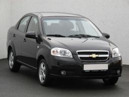 Chevrolet Aveo 2009 Limousine schwarz 3