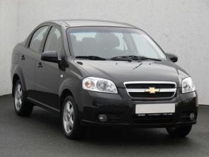Chevrolet Aveo 2009 Sedan čierna 3
