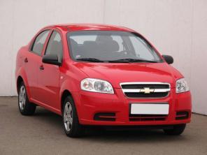 Chevrolet Aveo 2008 Sedan červená 4