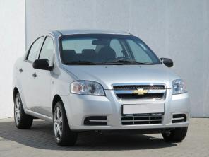 Chevrolet Aveo 2009 Sedans silver 7
