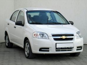 Chevrolet Aveo 2012 Sedan biela 9