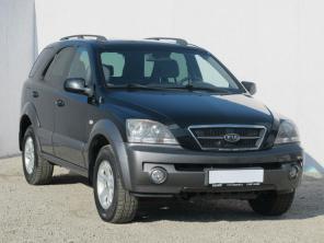 Kia Sorento 2004 SUV čierna 9