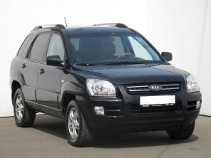 Kia Sportage 2005 SUV srebrny 8
