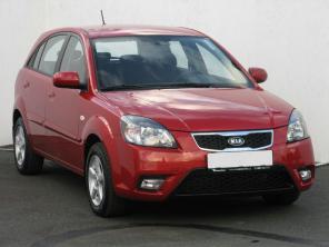 Kia Rio 2011 Hatchback piros 3
