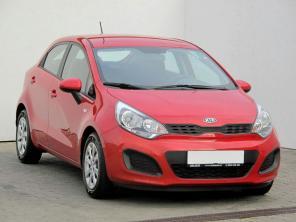 Kia Rio 2014 Hatchback czerwony 8