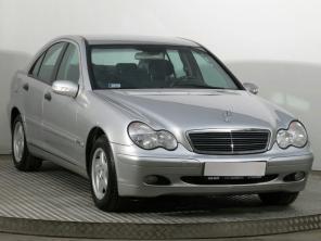 Mercedes-Benz C 2002 Sedan šedá 3