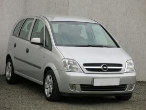 Opel Meriva 2004 Samochody Rodzinne srebrny 10
