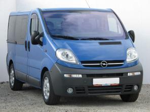Opel Vivaro 2005 Bus modrá 9