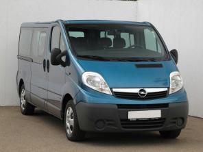 Opel Vivaro 2008 Bus modrá 8
